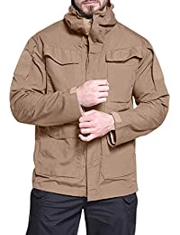 Fashion Men's Windproof Warm Outdoor Mountaineering Tactical Windbreaker Sports Jacket Coat with Hoodie