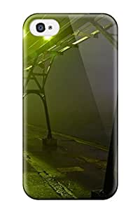Awesome Design Grand Haven Storm Fog Pier Hard Case Cover For Iphone 4/4s