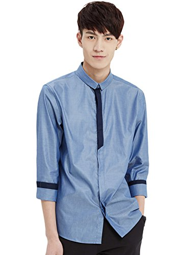 meters-bonwe-mens-fashion-long-sleeve-single-breasted-slim-fit-shirt-denim-blue-m