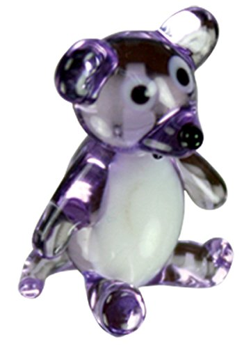 1052 Glasses - Looking Glass Millie the Mouse Miniature Glass Collectible, Pack of 48