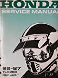 1986 1987 HONDA REFLEX Service Shop Repair Manual FACTORY 86 87 BOOK x