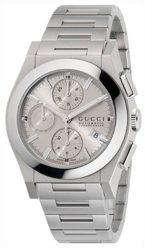 71b65e76a8a Gucci Pantheon XL Automatic Chronograph Steel Mens Watch Date Silver Dial  YA115206  Amazon.ca  Watches