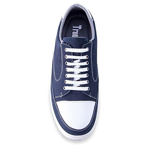 En Chaussures Augmentant La Avec Taille Semelle Réhaussantes Peau Bleu 7cm Homme Modèle Turin Fabriquées Masaltos Jusqu'à Pour 78xqd0wdY