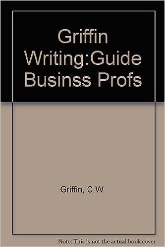 Descargar Libros Torrent Griffin Writing:guide Businss Profs Formato Kindle Epub