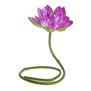 cici store Artificial Fake Flower Lotus with Rod Plants - Garden Pond Vase Decor 58