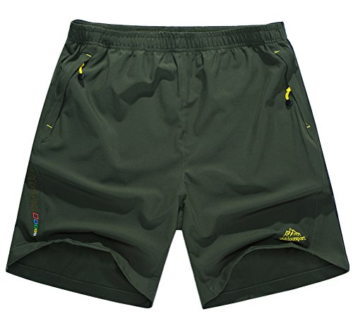 singbring-mens-outdoor-quick-dry-breathable-hiking-traveling-mountaineering-shorts-2x-large-amry-gre