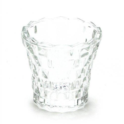 Fostoria American by, Glass Vase, Large Tooth ()