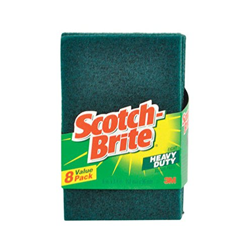 - 6 x 8pk Scotch Brite Scour Pad (48 Total)