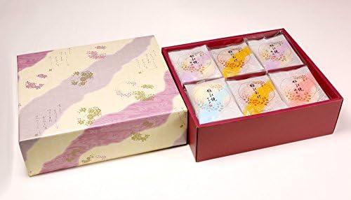 京都祇園萩月 雅び焼詰め合せ(42袋入)お手土産 につかえる お煎餅 詰合せ