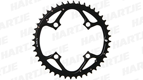 Truvativ Chainring Mtb 44t 4 Bolt 104mm Bcd Aluminium Hard Black 4 Mm, (9 Speed 64mm 4 Bolt)