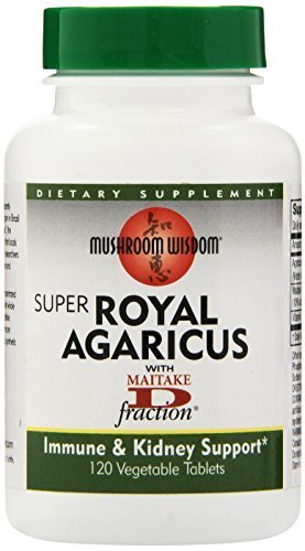 Super Royal Agaricus 120 vtabs by Mushroom Wisdom