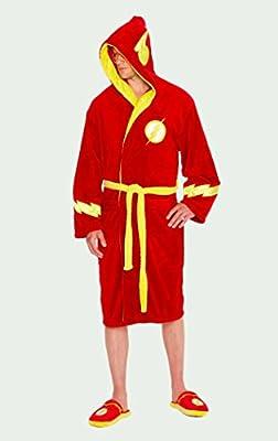 DC Comics Fleece Bathrobe The Flash Groovy Pigiami