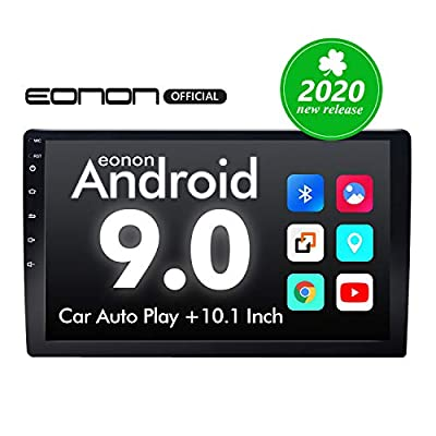 2020 Car Stereo,Double Din Car Stereo, Eonon Car Radio 10.1 Inch Android 9.0 Car Stereo Support Apple Carplay/Android Auto/WiFi/Fast Boot/DVR/Backup Camera/OBD2-(NO DVD/CD)-GA2178: Electronics