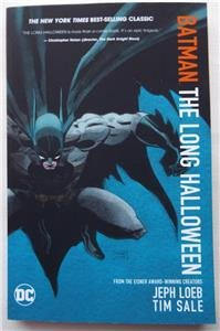 NEW ECCC 2017 SIGNED Tim Sale BATMAN THE LONG HALLOWEEN Complete Edition ()