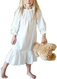 Toddler Kids Girls Spring Jersey Dress Long Speaker Sleeve Tulle Tutu Dresses Outfit