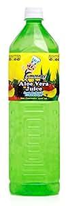 Yummmy Aloe Vera Juice, Original Flavor (2 PACK), 1.5 Liter, (53 Oz) 1500 Ml, Kosher Certified, (Pack of 2)