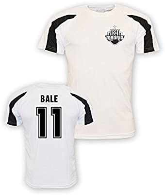 Amazon.com   Gareth Bale Real Madrid Sports Training Jersey (White) - Kids    Sports   Outdoors 3d6924b6b
