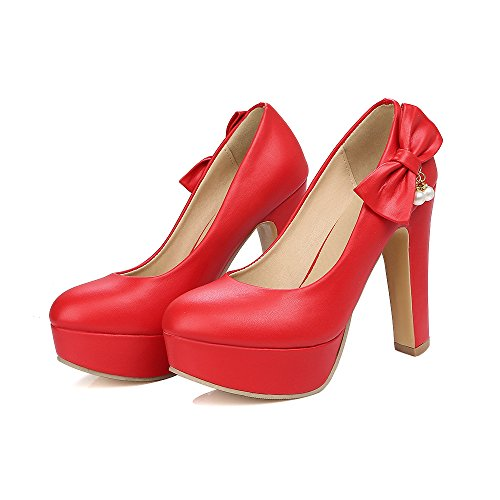 amp;S Profonde Bloc Talon Chaussures Bouche Femmes Talons Peu MEI 7w4qd4