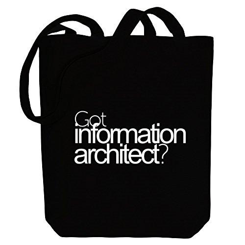 Occupations Information Canvas Tote Architect Idakoos Got Bag tR5qS