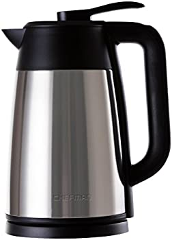 Chefman 7-Cup Double Walled Insulation Electric Kettle