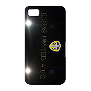 Classical Black Design Leeds United Association Football Club Phone Case Durable Cover For Blackberry Z10
