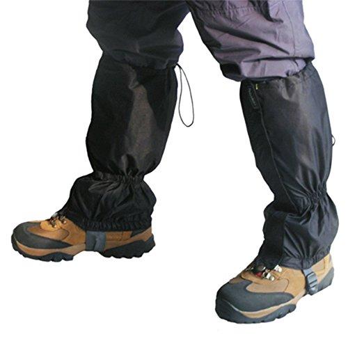 TRIXES 1 Paar wasserdichte Gamaschen für Outdoor-Hosen zum Wandern, Klettern und Schneewandern