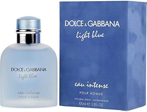 Light Blue Eau Intense pour Homme by Dolce & Gabbana for Men - Eau