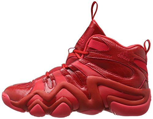 adidas B72993 Performance Men's Crazy 8 Basketball Shoe, Scarlet/Ray Red University Red, 7.5 M US