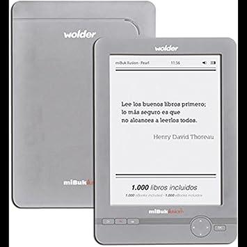 LECTOR DE LIBROS EBOOK WOLDER MIBUK ILUSION PEARL: Amazon.es: Electrónica