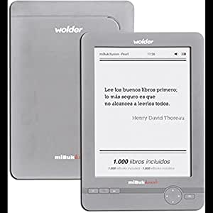 LECTOR DE LIBROS EBOOK WOLDER MIBUK ILUSION PEARL: Amazon.es ...