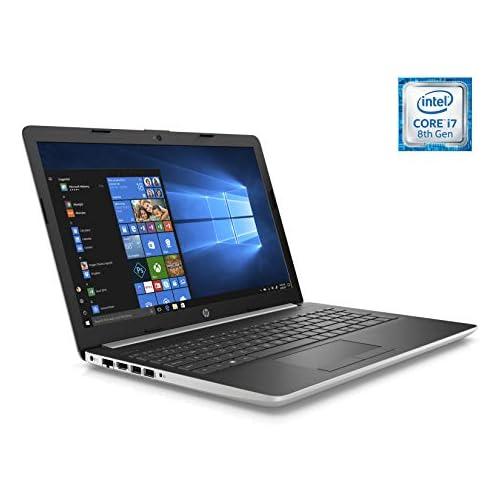 chollos oferta descuentos barato HP Laptop 15 da1017ns Ordenador portátil 15 6 HD Intel Core i7 8565U 8GB RAM 512GB SSD Nvidia GeForce MX130 2GB Windows 10 Color Plata Teclado QWERTY Español