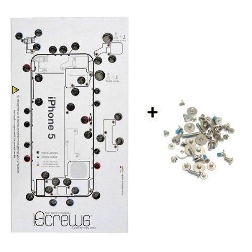 BisLinks iScrews Professional Repair Tray for iPhone 5 + Complete Full Screw Set