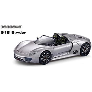 Amazon.com: ha Porsche Spyder 124 R/C Car, Black: Toys & Games on
