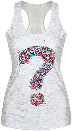 T-Shirt Tank Top Vest Punk 3D Print Camisole Crop Tops