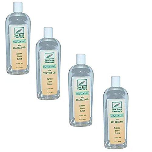 (Mouthwash-Tea Tree Alcohol Free Tea Tree Therapy 12 oz Liquid (4-Pack))