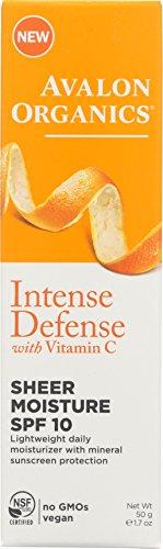 10 Intense Defense Sheer Moisture, 1.7 Ounce (Intense Spf 30 Sunscreen)