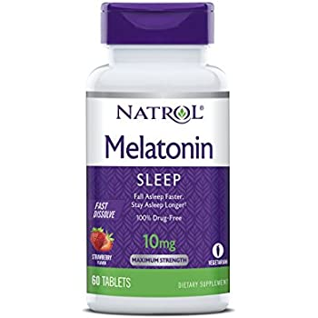 Natrol Melatonin Sleep, 10mg, Strawberry, 60 Tablet