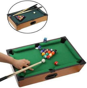 LIUXING Mesa de Billar en Miniatura Juegos de Mesa de Billar XING ...