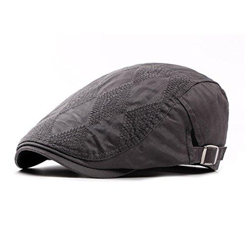 algodón Mujer size Navidad CAE MASTER CAP Hombre gran big sombreros beanie gris beret Grey Halloween hat sombrero 4q55XC0