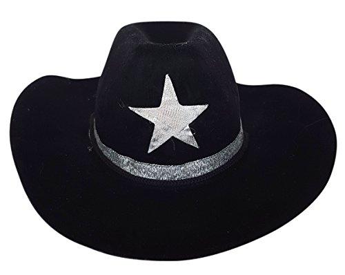 (Cowboy Hat Black Fits Most 14