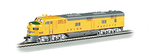 Bachmann Industries Union Pacific #989 Diesel Locomotive Train -