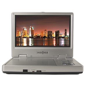 "8"" Insignia NS-8PDVDA Widescreen Portable DVD Player (Silver)"
