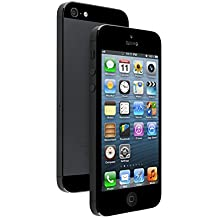 Apple iPhone 5, GSM Unlocked, 16GB - Black (Refurbished)