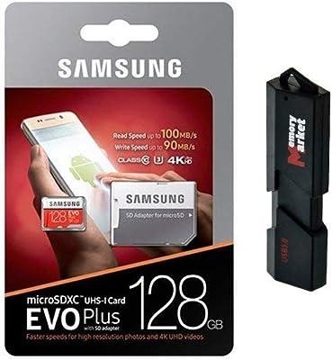 Samsung - Tarjeta de memoria MicroSD XC de 128 GB (clase 10, grado ...