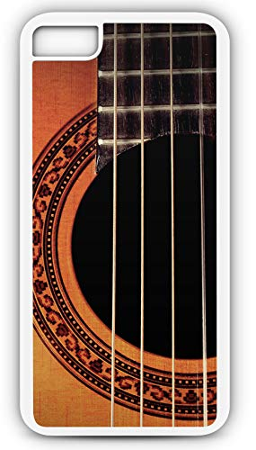 iPhone 7 Case Acoustic Guitar Lesson Play Music Musical Instrument Customizable by TYD Designs in White Plastic