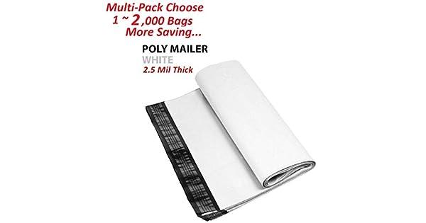 Amazon.com: AM-Ink - 500 bolsas de polietileno con cierre ...