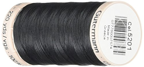 Quilting Thread 220 Yards-Black