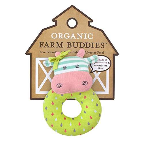 Organic Farm Buddies Rattle, Belle the Cow