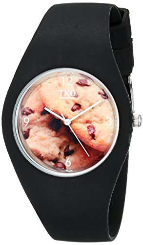 tko-cool-black-rubber-fun-cookie-dial-watch-for-teens-tk655bk