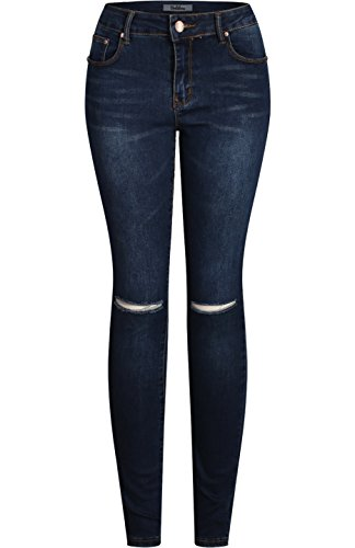 2LUV - Vaqueros - para mujer Medium Denim6